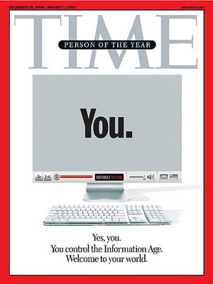 YOU 2006 TIME MAGAZINE COVER