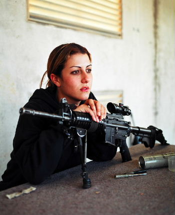 Ashkan Sahihi: women in the IDF
