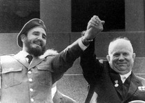Fidel and Khrushchev
