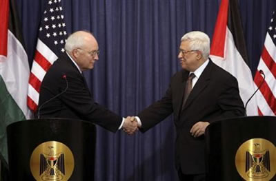 Cheney in Ramallah