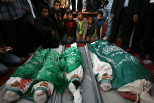 Children Killed in Gaza Attack