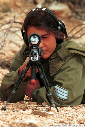 Heat Packing Woman in Israeli Military