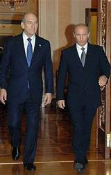 Olmert and Putin