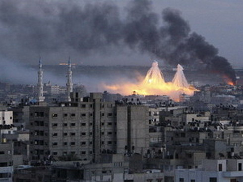 Gaza Bombing by Reuters