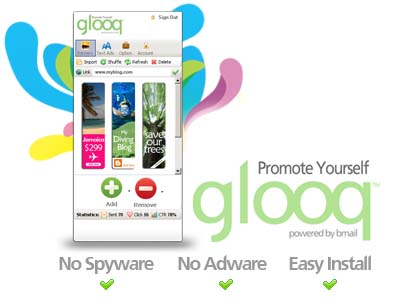 Promote yourself with glooq