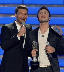 Kris Allen in American Idol 8