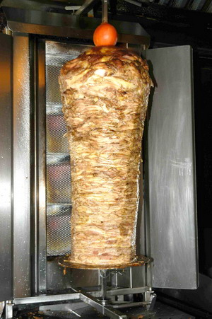 This Shawarma has nothing to do with the post - but look at it. Now you understand why people in Israel have pot bellies?