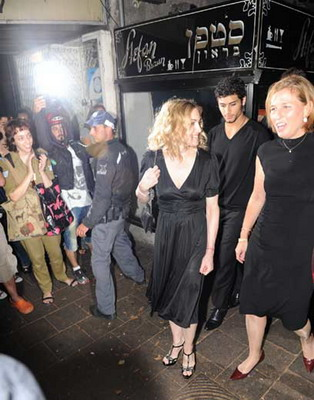 Madonna in Israel