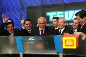 Teva (at NASDAQ)