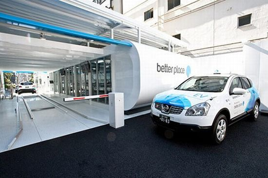 Better Place Electric Vehicle Chargers