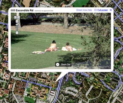 Google Street view This