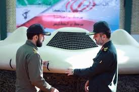 US Drone in the hands of Iranian officials