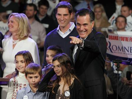 Romney claims his victory in New Hampshire