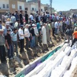 Mass burial of Houla victims
