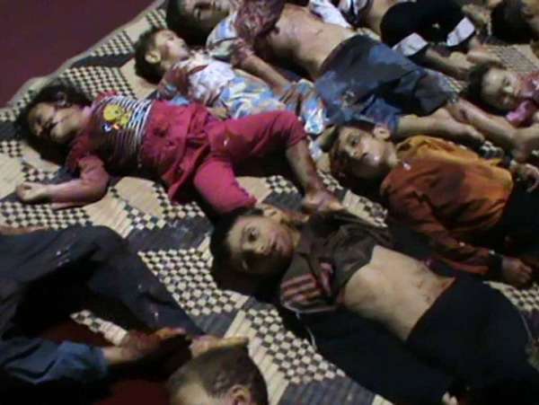 Syria Houla massacre of children May 2012