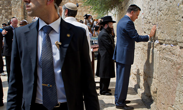 Presidential Candidate Romney Backs Israel and Its Right to Defend Itself Against Iran