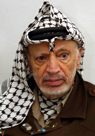 Poison Suspected in the Death Palestinian Leader Yasser Arafat