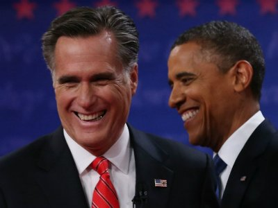 Romney Leads Obama Following First Televised Debate