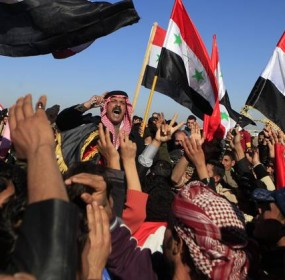 Streets of Iraq Engulfed by Massive Sunni-led Rallies
