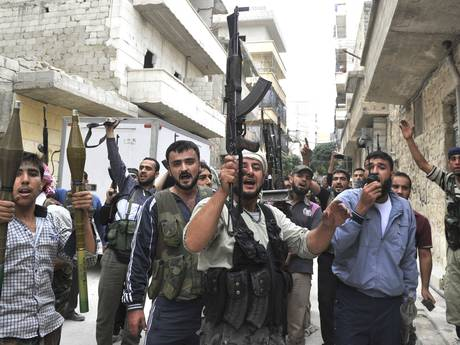 Syria Rebel Group Receives Formal Recognition by the U.S.